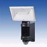 センサーLEDライト付きカラーカメラ(屋外用)